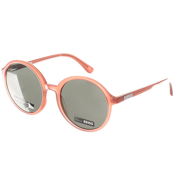 Очки женские Roxy Blossom Shiny Rasberry/Grey roxy солнцезащитные очки roxy miller shiny black polarized grey ss17
