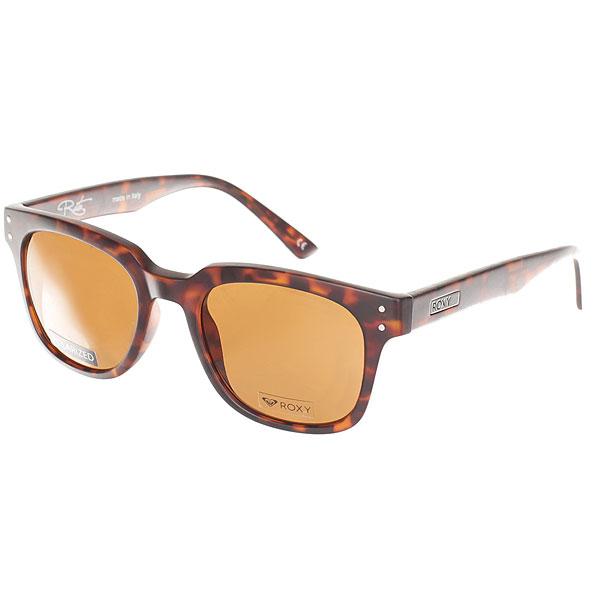 Очки Roxy Rita Polarized Matte Tortoise/Polar<br><br>Цвет: коричневый<br>Тип: Очки<br>Возраст: Взрослый<br>Пол: Мужской