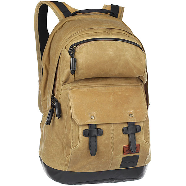 Рюкзак городской Nixon West Port Backpack Cumin<br><br>Цвет: коричневый<br>Тип: Рюкзак городской<br>Возраст: Взрослый<br>Пол: Мужской