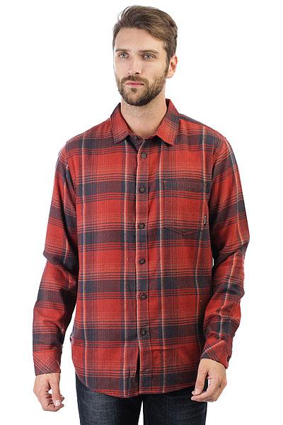 Рубашка в клетку Billabong Coastline Flannel Red рубашка в клетку insight freedom flannel acdc green