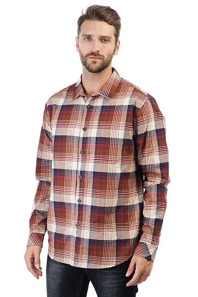 Рубашка в клетку Billabong Coastline Flannel Brown<br><br>Цвет: коричневый<br>Тип: Рубашка в клетку<br>Возраст: Взрослый<br>Пол: Мужской