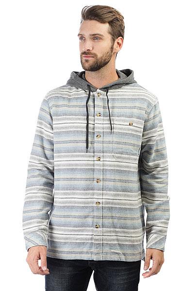 Рубашка в клетку Billabong Baja Flannel Stone Heather<br><br>Цвет: серый,голубой<br>Тип: Рубашка в клетку<br>Возраст: Взрослый<br>Пол: Мужской