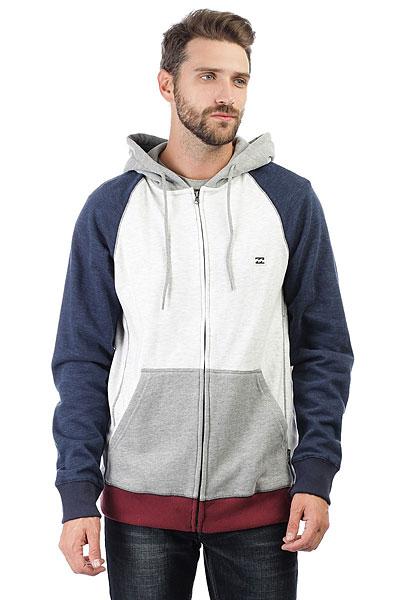 Толстовка классическая Billabong Balance Zip Up Grey Heather толстовка мужска billabong chopper hood 2016 neutral grey m