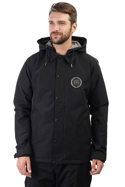 Куртка утепленная Billabong Velocity Black витражные панели