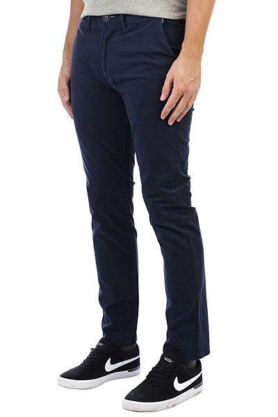 Штаны прямые Billabong New Order Chino Navy billabong new order print 19 black