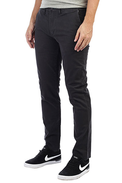 Штаны прямые Billabong New Order Chino Char billabong new order print 19 black