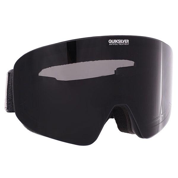 Маска для сноуборда Quiksilver Qs Rc Black<br><br>Цвет: черный<br>Тип: Маска для сноуборда<br>Возраст: Взрослый<br>Пол: Мужской