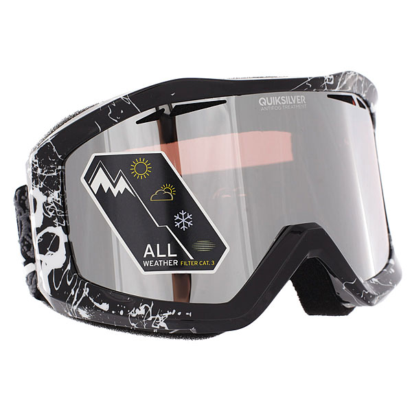 Маска для сноуборда Quiksilver Fenom Real Black