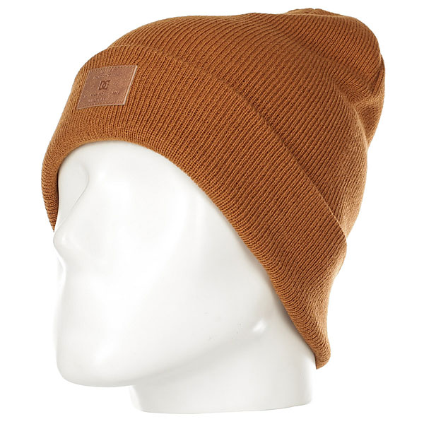 Шапка женская DC Label Hats Leather Brown шапка детская dc label youth hats empire yellow