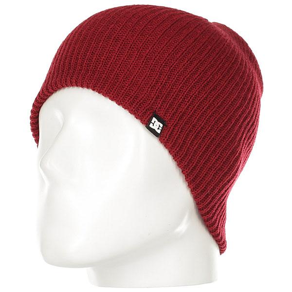 Шапка DC Clap Hats Rio Red<br><br>Цвет: бордовый<br>Тип: Шапка<br>Возраст: Взрослый<br>Пол: Мужской