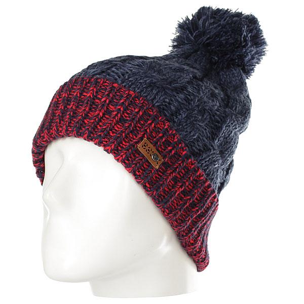 Шапка женская Roxy Anae Beanie Hats Peacoat<br><br>Цвет: Темно-синий<br>Тип: Шапка<br>Возраст: Взрослый<br>Пол: Женский