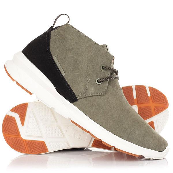 Полуботинки DC Ashlar Olive NightМужские ботинки Ashlar из натуральной замши из новой коллекции DC.Технические характеристики: Верх из натуральной замши.Подкладка из натуральной кожи.Эластичный внутренник.Легкая подошва UniLite™ из полимера EVA.<br><br>Цвет: зеленый<br>Тип: Полуботинки<br>Возраст: Взрослый<br>Пол: Мужской