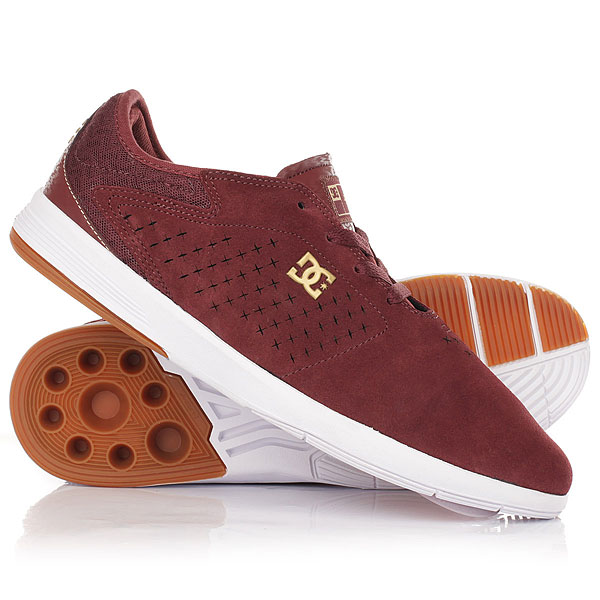 Кроссовки DC New Jack S Maroon dc shoes кеды dc heathrow se 11