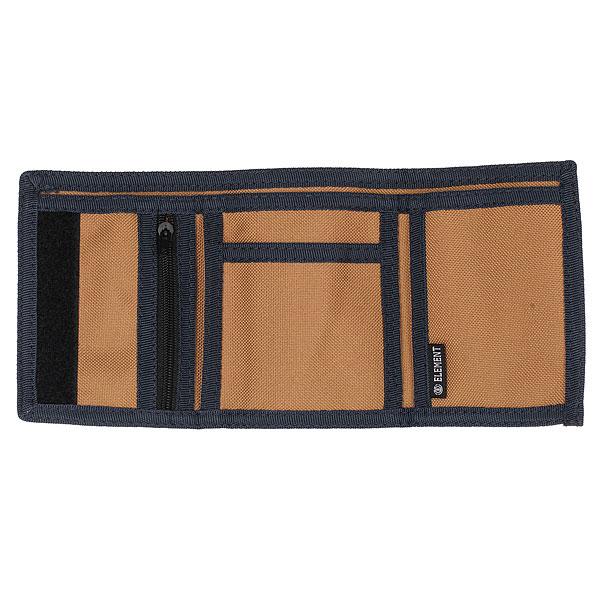 Кошелек Element Elemental Wallet Bronco Brown