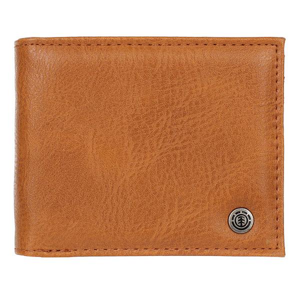 Кошелек Element Bowo Wallet Rust Brown<br><br>Цвет: Светло-коричневый<br>Тип: Кошелек<br>Возраст: Взрослый<br>Пол: Мужской