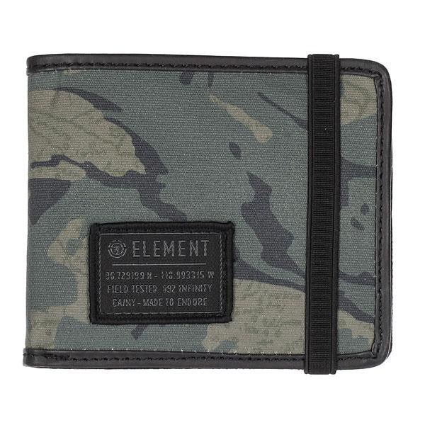 Кошелек Element Endure Wallet Map Camo<br><br>Цвет: серый<br>Тип: Кошелек<br>Возраст: Взрослый