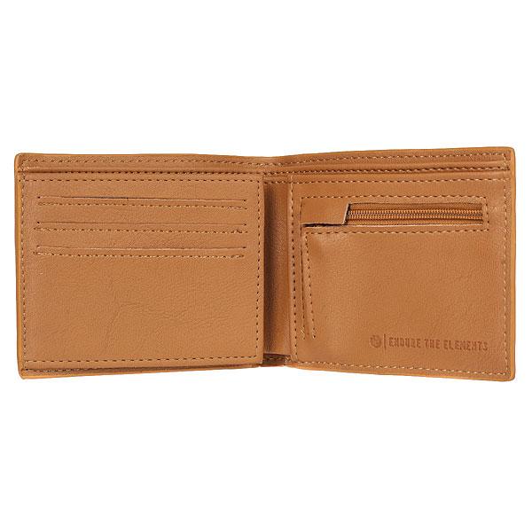 Кошелек Element Daily Wallet Bronco Brown