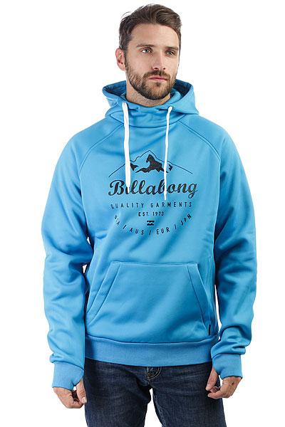 Толстовка классическая Billabong Downhill Bonded Hood Aqua Blue<br><br>Цвет: синий<br>Тип: Толстовка классическая<br>Возраст: Взрослый<br>Пол: Мужской