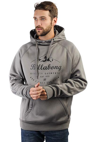 Толстовка классическая Billabong Downhill Bonded Hood Grey толстовка мужска billabong chopper hood 2016 neutral grey m