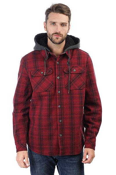 Рубашка утепленная Billabong Curtis Shirt Blood<br><br>Цвет: красный<br>Тип: Рубашка утепленная<br>Возраст: Взрослый<br>Пол: Мужской