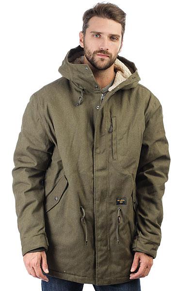 цена Куртка парка Billabong Stafford Parka Military онлайн в 2017 году