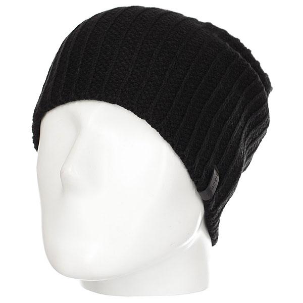 Шапка Rip Curl D-frame Beanie Black<br><br>Цвет: черный<br>Тип: Шапка<br>Возраст: Взрослый<br>Пол: Мужской
