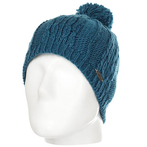 Шапка женская Rip Curl Plaity Beanie Blue чемодан rip curl rip curl ri027bwzlc59