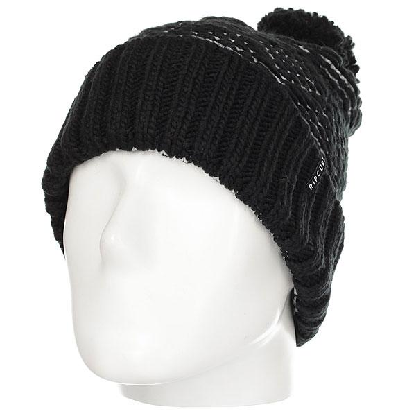 Шапка женская Rip Curl Pinchi Beanie Black футболка rip curl stoke merchants arty black