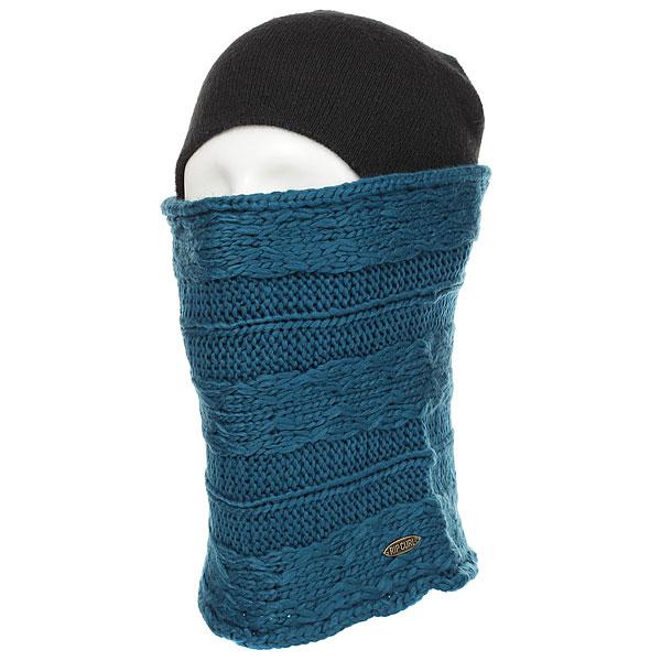 Шарф снуд женский Rip Curl Knit Tube Ink Blue<br><br>Цвет: синий<br>Тип: Шарф снуд<br>Возраст: Взрослый<br>Пол: Женский