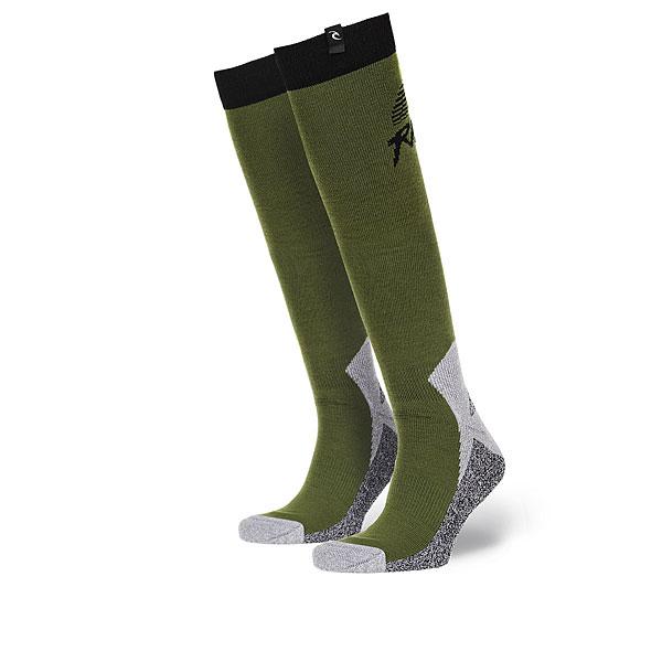 Носки высокие женские Rip Curl Brash Socks Cypress<br><br>Цвет: серый,зеленый<br>Тип: Носки высокие<br>Возраст: Взрослый<br>Пол: Женский