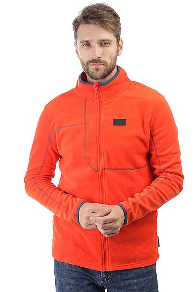 Толстовка классическая Rip Curl Micro Fleece Fz Orange<br><br>Цвет: оранжевый<br>Тип: Толстовка классическая<br>Возраст: Взрослый<br>Пол: Мужской