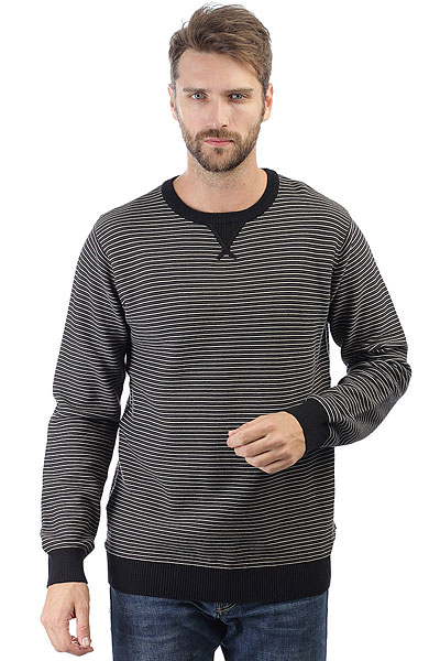 Толстовка свитшот Rip Curl Views Sweater Black футболка rip curl rip curl ri027emyxq94