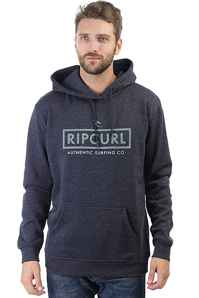Толстовка кенгуру Rip Curl Corp Bloc Hooded Night Sky толстовка свитшот rip curl beat fleece night sky