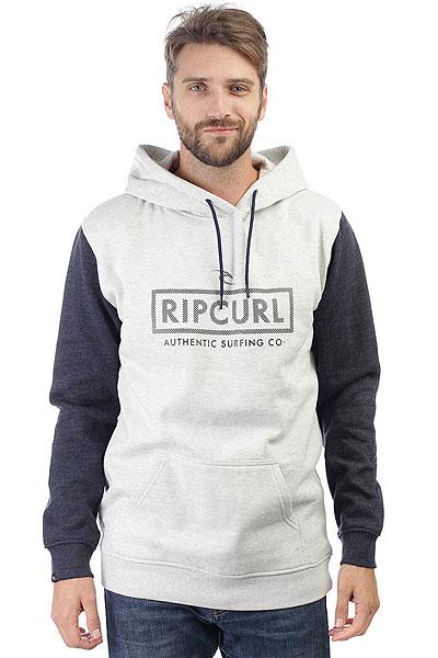 Толстовка кенгуру Rip Curl Corp Bloc Hooded White Marle