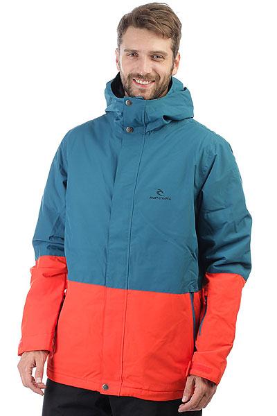 Куртка утепленная Rip Curl Enigma OrangeНадежность куртки Rip Curl Enigma позволит Вам самозабвенно раскатывать нетронутый снег вне трасс, наматывать круги по подготовленным склонам и раздавать трюки в парке в полной уверенности, что к концу катального дня Ваше тело останется в тепле, сухости и комфорте. Главное правило любой хорошей куртки – иметь дышащую влагостойкую мембрану, еще лучше, если она дополнена пропиткой DWR, которая повышает её износостойкость примерно на целых 10 стирок. Куртка располагает рядом функциональных карманов, включая карман для ски-пасса, она легкая и удобная, идеальный вариант для исследования локальных спотов в хорошей компании друзей.Характеристики:Прочная верхняя ткань Oxford с влагостойкой дышащей мембраной с показателями 10,000 мм / 10,000 г. Центральная молния по всей длине с ветрозащитным клапаном. Регулируемый капюшон. Нейлоновая подкладка.Критические швы проклеены. Прочные молнии YKK. Боковые карманы для рук на молнии. Внутренний карман. Карман на рукаве для ски-пасса.Регулируемые манжеты. Обработка ткани пропиткой DWR для дополнительной защиты от влаги и повышения износостойкости мембраны. Фирменный логотип на груди.<br><br>Цвет: синий,оранжевый<br>Тип: Куртка утепленная<br>Возраст: Взрослый<br>Пол: Мужской