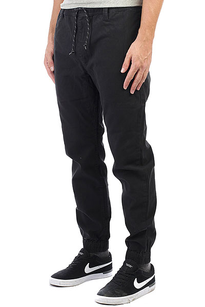 Штаны прямые Rip Curl Guru Pant Black брюки rip curl брюки baleare pant