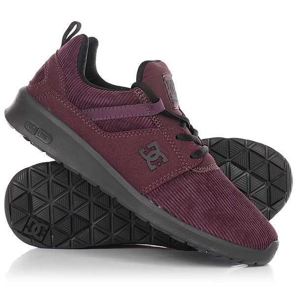 Кроссовки женские DC Heathrow Tx Se Mar Maroon dc shoes кеды dc heathrow 8