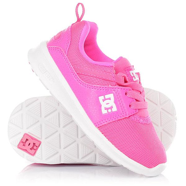 Кроссовки детские DC Heathrow Pink dc shoes кеды dc heathrow se 11