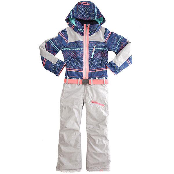 Комбинезон сноубордический детский Roxy Impress Suit Gi G Snsu Sodalite Blue_asta картридж samsung clt y506 для clp 680nd clx 6260fd 6260fr желтый
