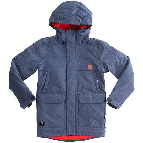 Куртка утепленная детская DC Harbor Insignia Blue куртка cwg canada weather gear куртка