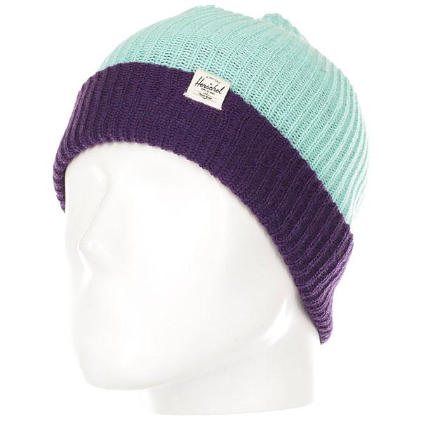Шапка детская Herschel Youth Quartz Lucite Green/Parachute Purple шапка детская dc label youth hats dark shadow heather
