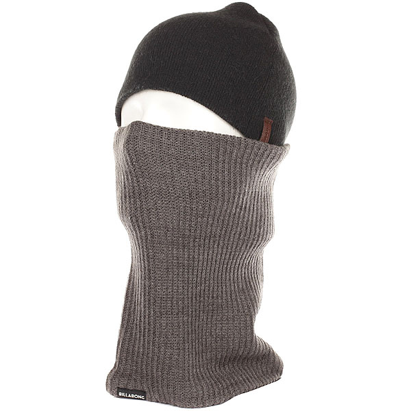 Шарф труба Billabong Allday Neck Warmer Grey Heather шапка billabong disaster bb gallery grey heather