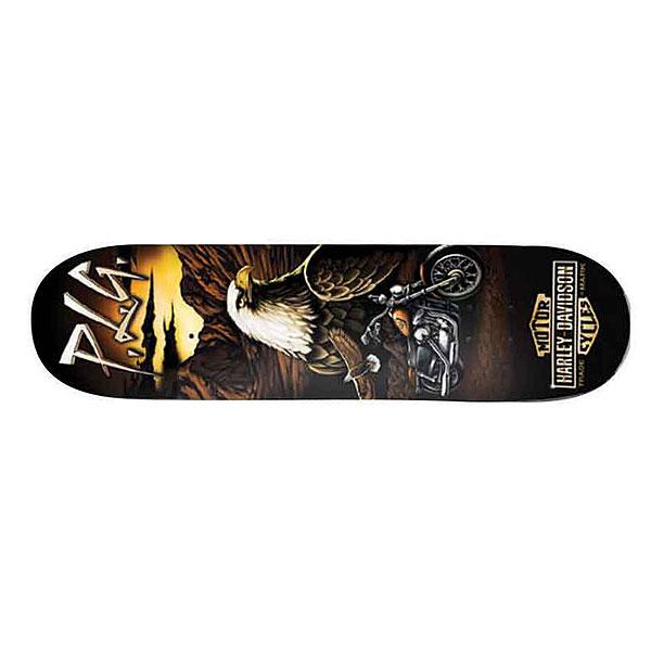 Дека для скейтборда для скейтборда Darkstar Harley-davidson Vintage Manolo 31.6 x 8 (20.3 см) дека для скейтборда для скейтборда almost s6 impact plus youness junk on my prick 31 7 x 8 25 21 см