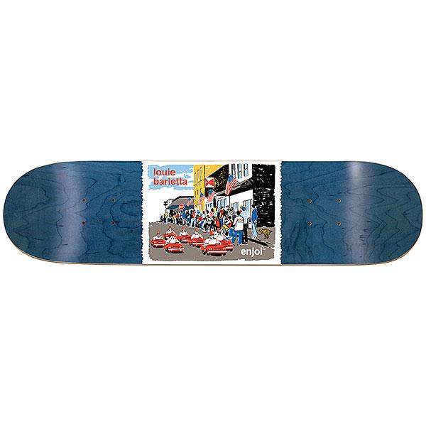 Дека для скейтборда для скейтборда Enjoi Barletta Dog Pooper Shriners 31.7 x 8 (20.3 см)Ширина деки: 8 (20.3 см)    Длина деки: 31.7 (80.5 см)    Количество слоев: 7<br><br>Цвет: мультиколор,синий<br>Тип: Дека для скейтборда<br>Возраст: Взрослый<br>Пол: Мужской