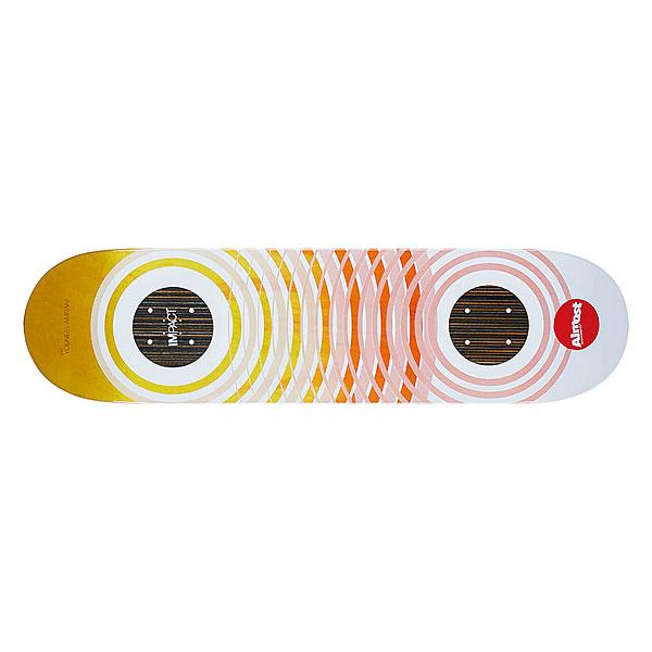 Дека для скейтборда для скейтборда Almost Youness Og Trans Rings Ghost Impact 31.6 x 8 (20.3 см)Ширина деки: 8 (20.3 см)    Длина деки: 31.6 (80.3 см)    Количество слоев: 7<br><br>Цвет: белый,мультиколор<br>Тип: Дека для скейтборда<br>Возраст: Взрослый<br>Пол: Мужской