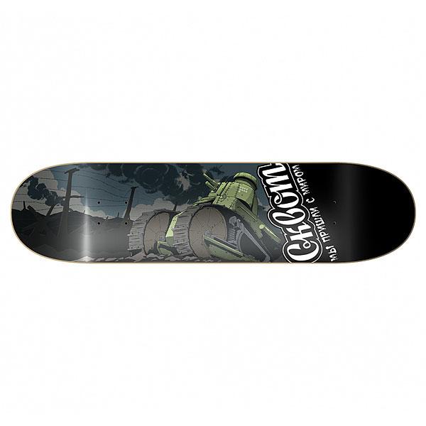 Дека для скейтборда для скейтборда Сквот Tank Multicolor 8.5 (21.6 см)