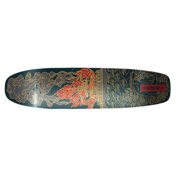 Дека для скейтборда для лонгборда Сквот Pagoda Multicolor 8.0 (20.3 см)