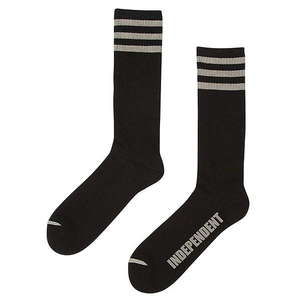 Носки высокие Independent Sock Black<br><br>Цвет: белый,черный<br>Тип: Носки высокие<br>Возраст: Взрослый<br>Пол: Мужской