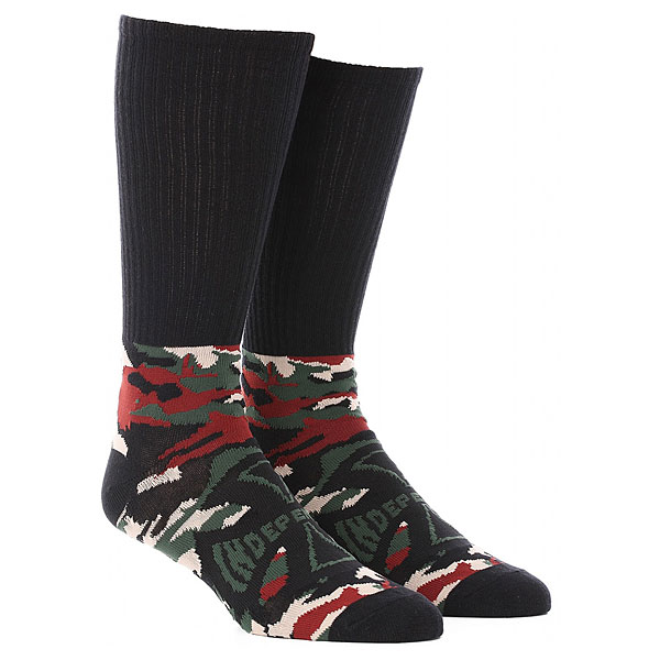 Носки высокие Independent Concealed Sock Camo/Black леггинсы name it name it na020egqnb29