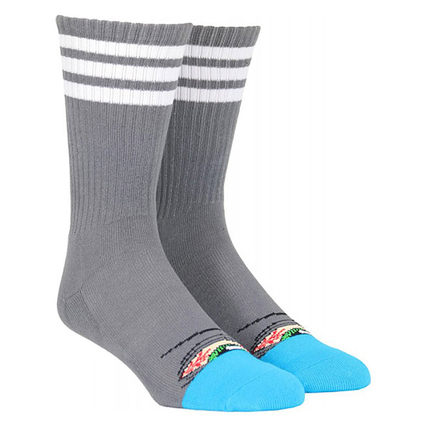 Носки высокие Toy Machine Stoner Sect Sock Grey
